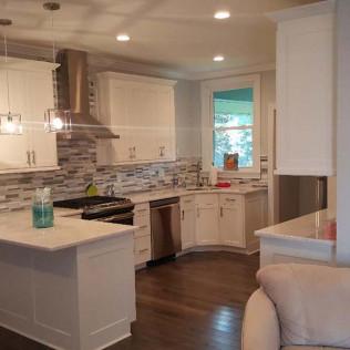 Kitchen remodeling services with custom cabinets in the Clarksboro, Mullica Hill and East Greenwich, NJ